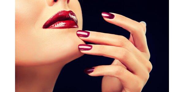 Nová modeláž nebo doplnění nehtů UV gelem