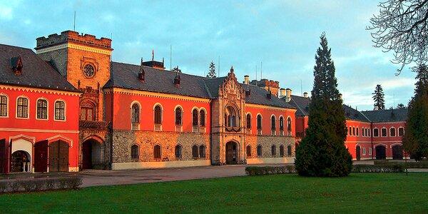 4* wellness pobyt v sousedství zámku Sychrov