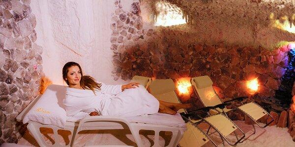 Elixír zdraví v solné jeskyni v Lipkách