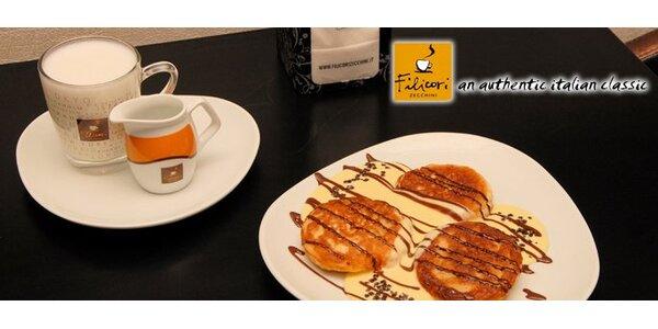 109 Kč za 2 porce domácích lívanců a 2 prvotřídní kávy Filicori Zecchini!