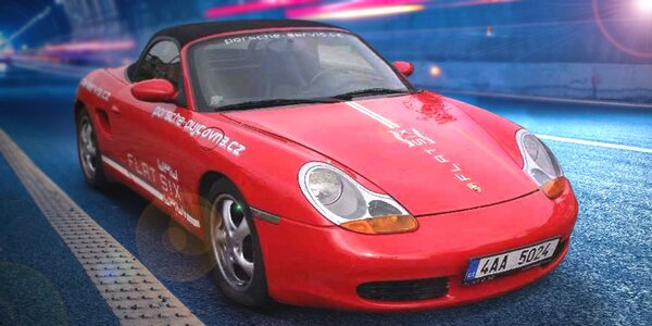 Projížďka ve sportovním žihadle Porsche Boxster