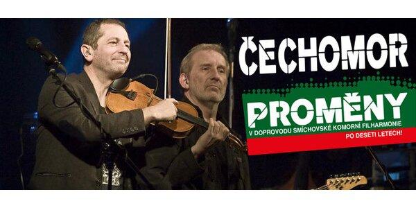Čechomor a filharmonie - Proměny po 10 letech!