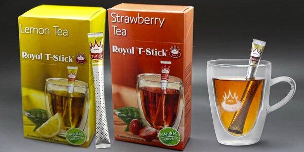Unikátní sypané čaje Royal T-Stick
