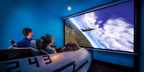 Letecký simulátor – skvělý zážitek z bezpečí země