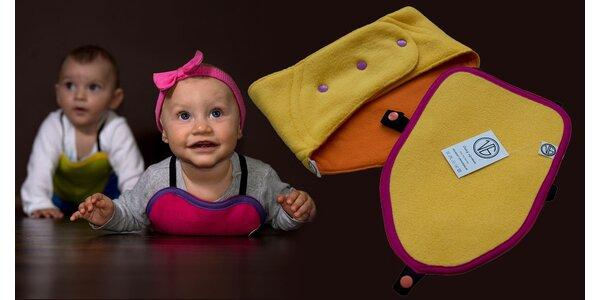 Plazička a první bederní pás pro děti