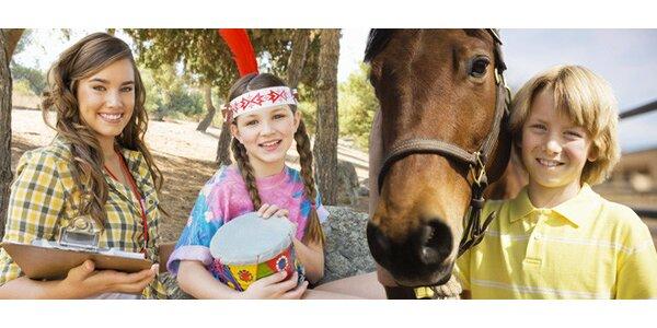 Dětský letní tábor s jízdou na koních