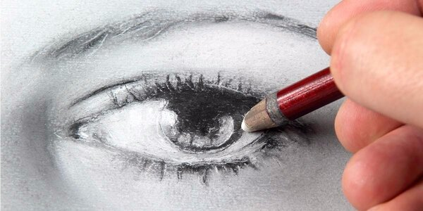 Portrét za dva dny – výtvarný kurz kreslení pravou mozkovou hemisférou