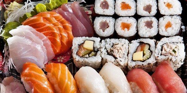 Lahodné a zdravé sushi sety s sebou