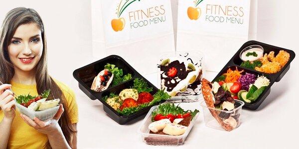 5dní krabičkové diety Fitness food menu