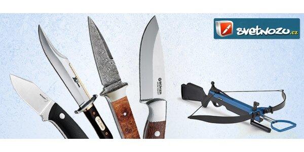 25% sleva na nákup ve Světě nožů