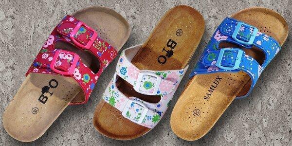 Korkové pantofle pro každý den