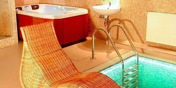 Dvě hodiny v privátní vířivce a sauně pro dva