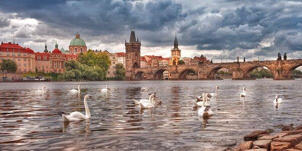 Pohoda s polopenzí pro dva v magické Praze