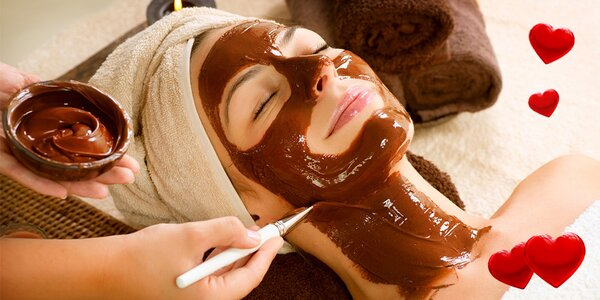 60minutová čokoládová kosmetická péče