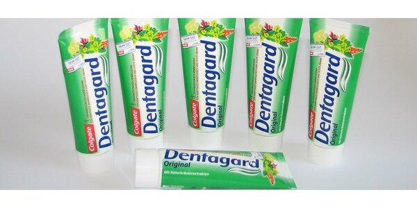 5x zubní pasta COLGATE DENTAGARD ORIGINAL, 75 ml