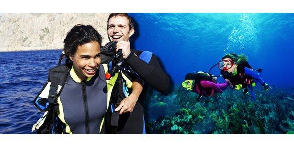 Potápěčský kurz OWD s mezinárodním certifikátem