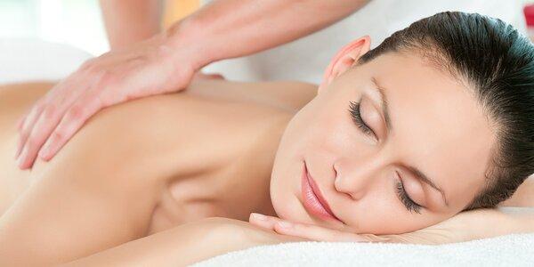 Hodinová masáž od nevidomých masérů