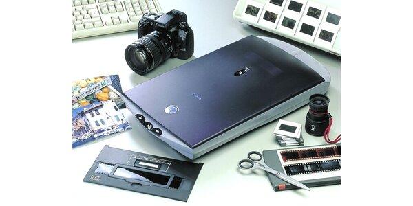 Skenování/digitalizace negativů a diapozitivů
