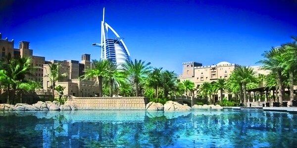 Letecký zájezd do Dubaje