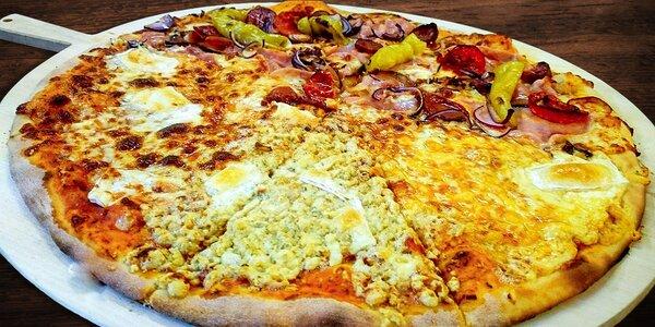 Dvě křupavé pizzy dle vlastního výběru v Litovli