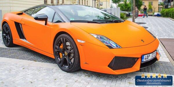 Řízení Lamborghini a Ferrari včetně paliva