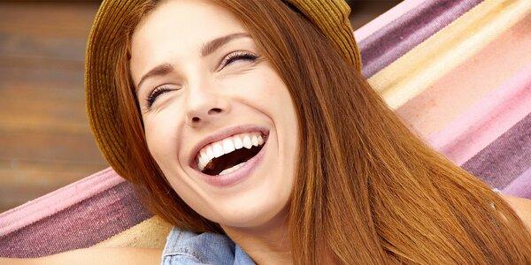 Dentální hygiena a air flow na Smíchově