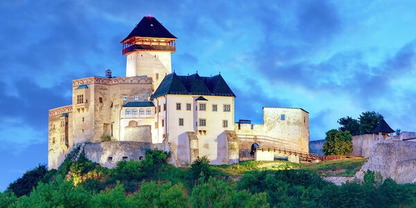 Relaxace s polopenzí nedaleko hradu Trenčín