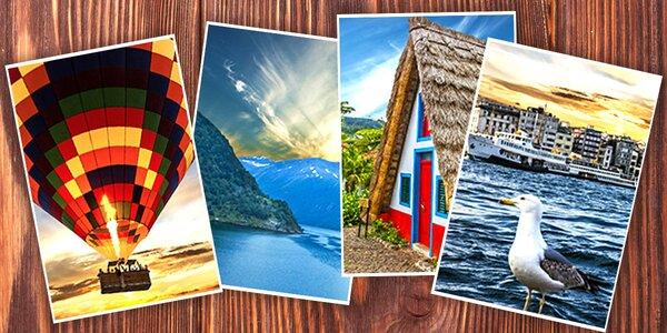 Vyvolání čtyř vašich fotografií ve formátu A4