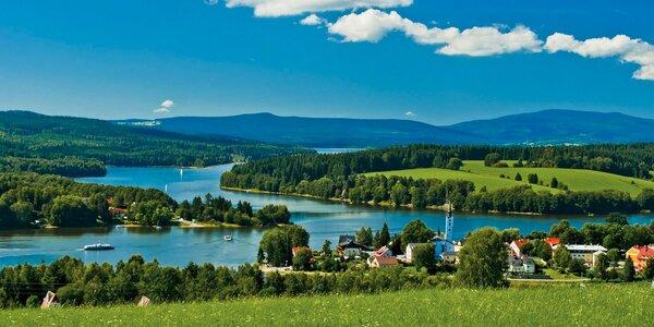 3denní odpočinek na břehu Lipenské přehrady