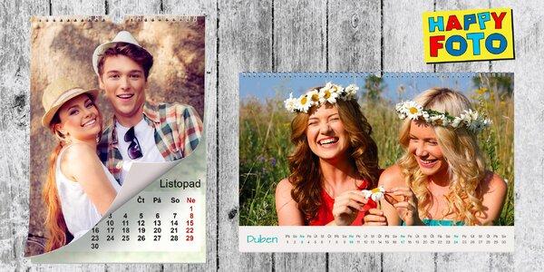 MAXI kalendář ve formátu A2 z vlastních fotek