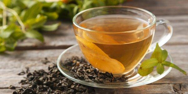 Sypané zelené i bílé čaje v dárkovém balení