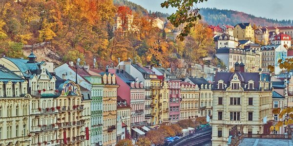 Pohoda s wellness i obědem v Karlových Varech