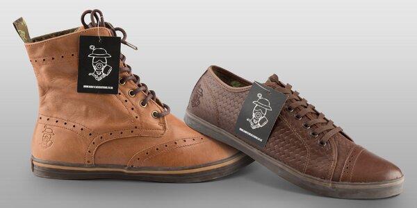 Šmrncovní pánské boty Nanny State