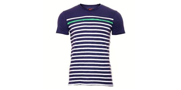 Pánské tričko SixValves s bílým proužkem