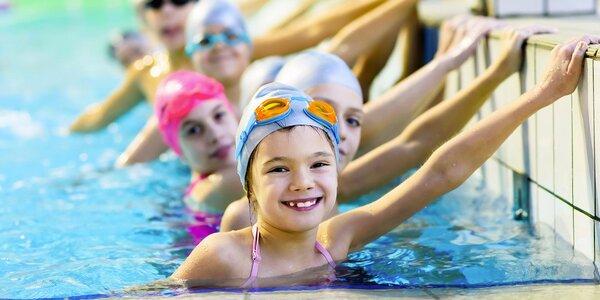 Plavecké kurzy pro děti ve sportcentu YMCA