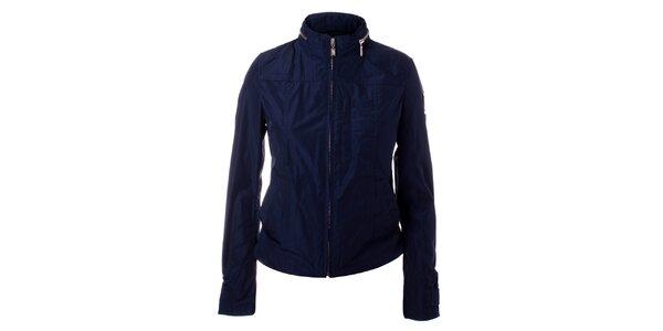 Dámská tmavě modrá bunda se stojáčkem Refrigue