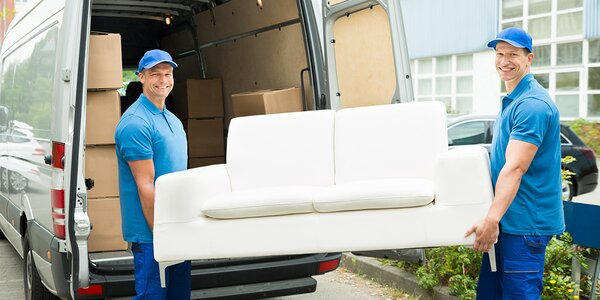 60minutové stěhovací a vyklízecí služby