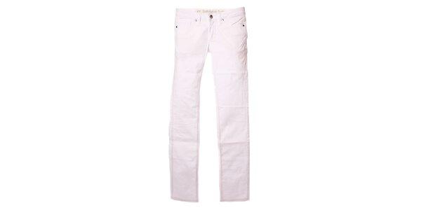 Dámské bílé skinny kalhoty Refrigue