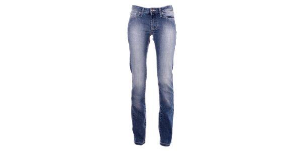 Dámské modré vyšisované džíny Refrigue