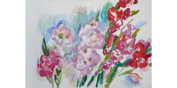 Dvouměsíční malířský kurz Školy vidění