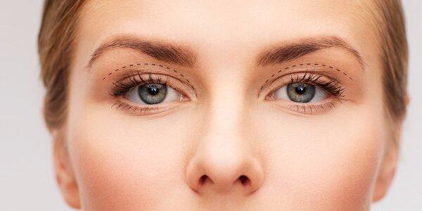 Redukce nadbytečné kůže na horních víčkách