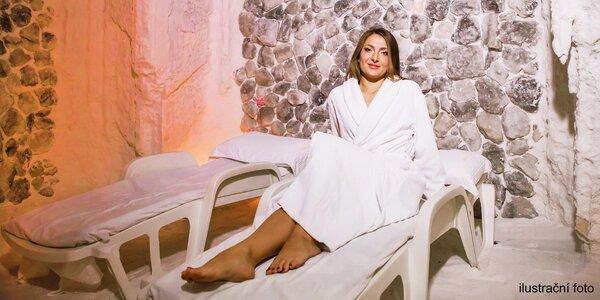 Relaxace v solné jeskyni Halos