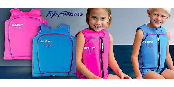 Dětské plavky a plovací vesty
