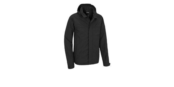 Pánská černá nepromokavá bunda Maier s membránou