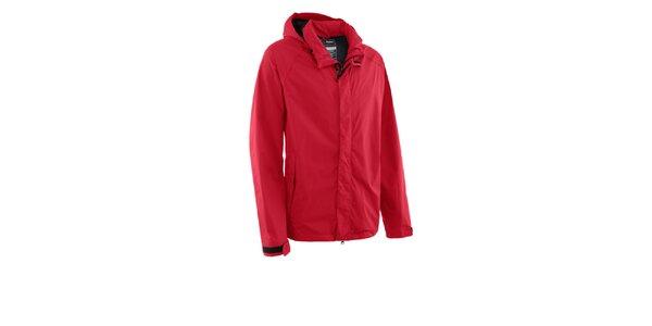 Pánská červená nepromokavá bunda Maier s membránou