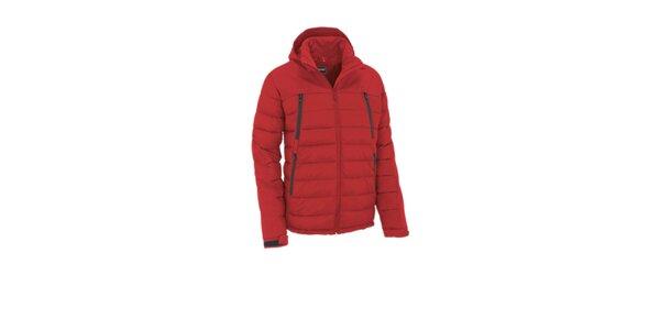 Pánská červená prošívaná bunda Maier