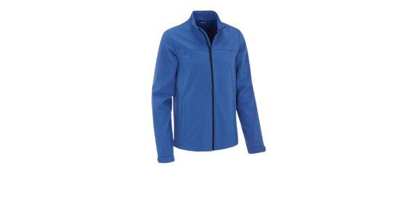 Pánská zářivě modrá softshellová bunda Maier s membránou