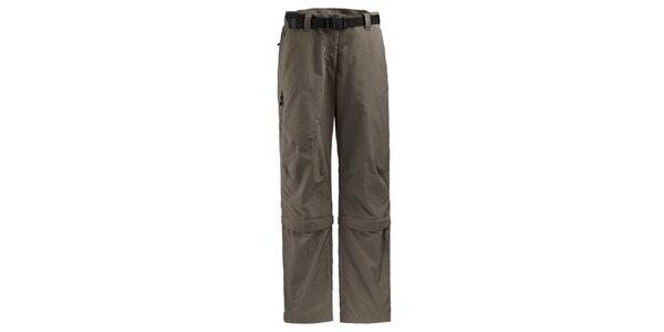 Dámské hnědošedé sportovní kalhoty Maier