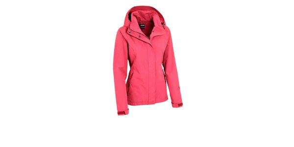 Dámská růžová bunda Maier s nepromokavou membránou