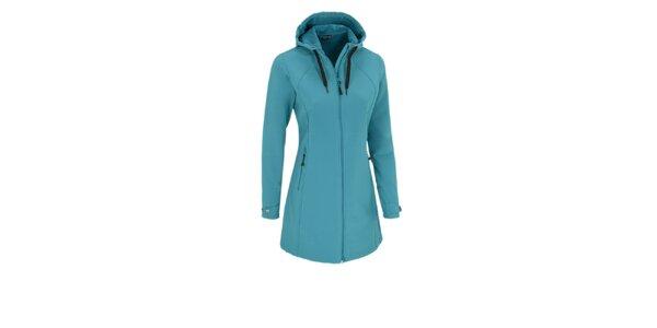 Dámský tyrkysový softshellový kabátek Maier s membránou